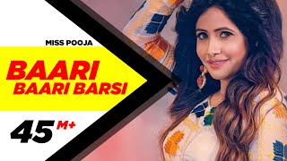Baari Baari Barsi | Full | Miss Pooja | G Guri | Latest Punjabi Song 2017 | Speed Records