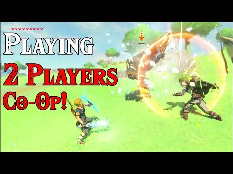 Playing 2 Players Co-Op! WATCH THIS NINTENDO in Zelda Breath of the Wild