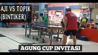 Aji vs Tovik (BINTIKER) Tenis Meja / Indonesian Table Tennis