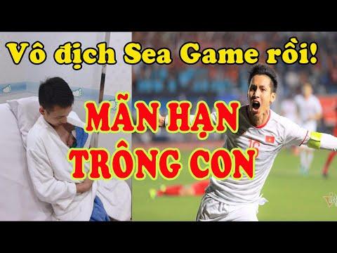 Giành HCV SEA Games, Hùng Dũng không bị phạt ở nhà chăm con