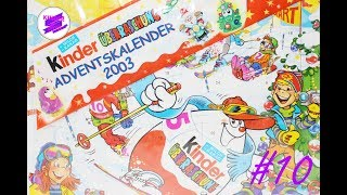 Киндер Сюрприз. Адвент календарь 2003 года #10. Kinder Surprise 2003