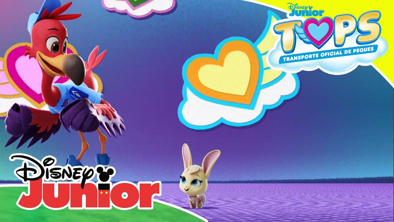 Llamando a todos los T.O.P.S.: Rubito, el conejito | Disney Junior Oficial