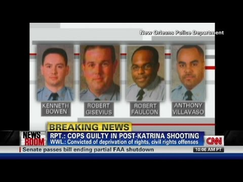 Cops guilty in post-Katrina shootings