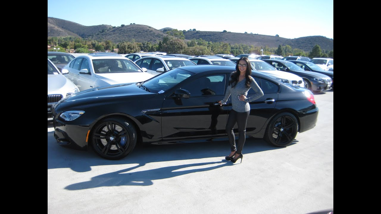 BMW M6 Gran Coupe 20 Black M Wheels Performance Exhaust Sound Review