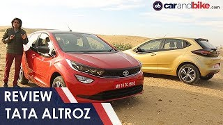 Tata Altroz Review | Tata's Premium Hatchback Driven | carandbike