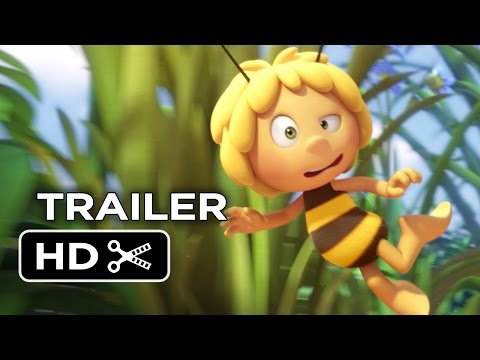 Maya the Bee Movie Official Trailer 1 (2015) - Kodi Smit-McPhee Animated Movie HD