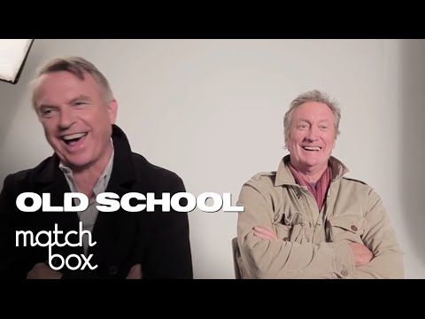 Sam Neill & Bryan Brown Get Covered in Indusrial Waste | Old School