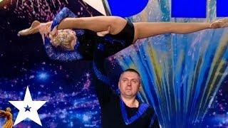Акробатические трюки дочери и отца - Україна має талант-6 - Кастинг в Днепропетровске