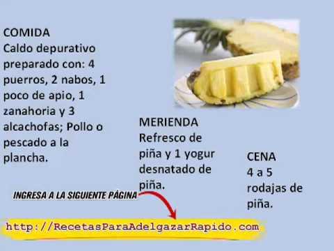 Recetas para adelgazar de forma f cil con pi a la pi a - Comida sana y facil para adelgazar ...