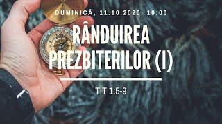 Sfanta Treime Braila - 11 Octombrie 2020 - pastor Iosua Faur - Tit 1:5-9 (I)