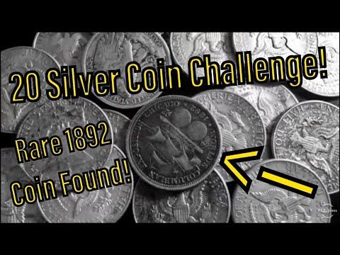 20 Silver Coin Challenge! Rare 1892 Columbian Expo Found!