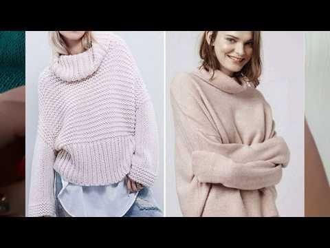 Модные свитера осень-зима  2019-2020