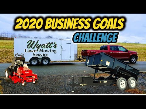 my-2020-business-goals!-|-lawn-care-business-|-challenge/nominations-|-business-goal-setting