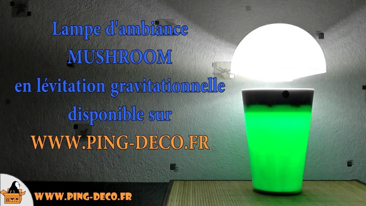 lampe en l vitation althuria mushroom www ping deco fr youtube. Black Bedroom Furniture Sets. Home Design Ideas