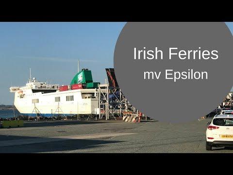Irish Ferries Epsilon Holyhead to Dublin with a motorcycle