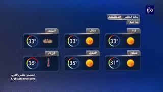 النشرة الجوية الأردنية من رؤيا 31-5-2019 | Jordan Weather