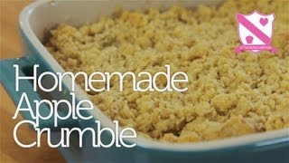 One of InTheKitchenWithKate's most viewed videos: Homemade Apple Crumble Recipe