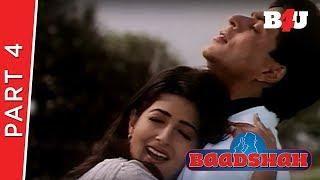 Baadshah | Shahrukh Khan, Twinkle Khanna, Johnny Lever | Part 4 | B4U Mini Theater