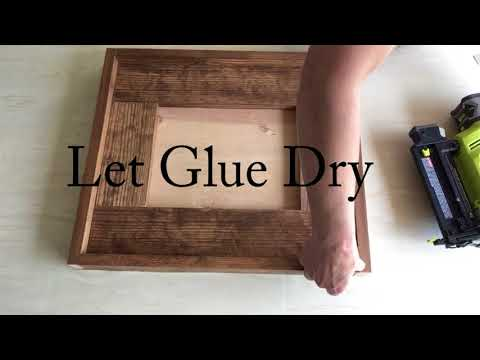How to Build a Rustic Picture Frame
