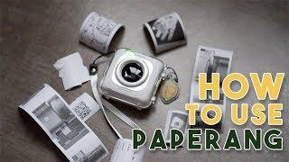 How to Use Paperang (ENGLISH) | ʷᶦᵗʰ ᵃⁿᵈ ʷᶦᵗʰᵒᵘᵗ ʷᶦᶠᶦ