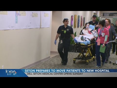 Dell Seton Medical Center preps to move patients to new hospital