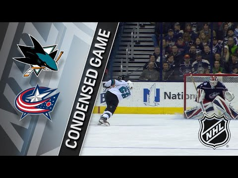 02/02/18 Condensed Game: Sharks @ Blue Jackets