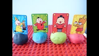 Bumba en zijn vriendjes Surprise Toys 4 Colors Play doh Fun Toys for Kids