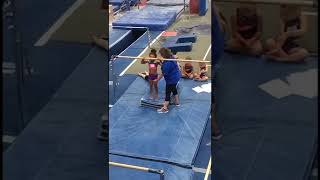 Harper's Gymnastics Tryouts & Thurgood killing it on the 800m - 4/22/18