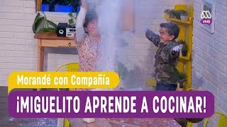 ¡Miguelito aprende a cocinar! - Morandé con Compañía 2018