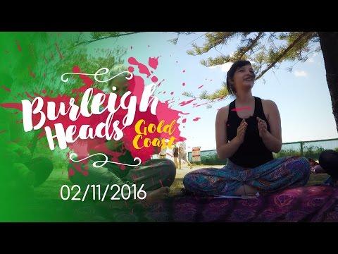 [ENGLISH] BURLEIGH HEADS YOGA CLASS 02/11/16 | Namaste108
