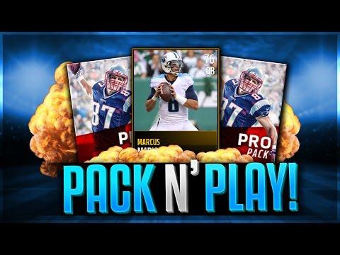Pack N' Play! Madden Mobile 17 Legend Packs