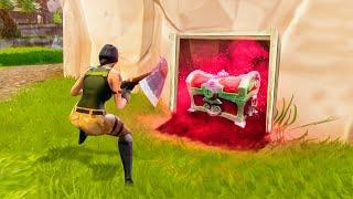 FINDING SUPER SECRET WEAPONS! (Fortnite: Battle Royale)