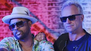 Sting and Shaggy's 'Gotta Get Back My Baby' Video: Behind the Scenes (Exclusive)