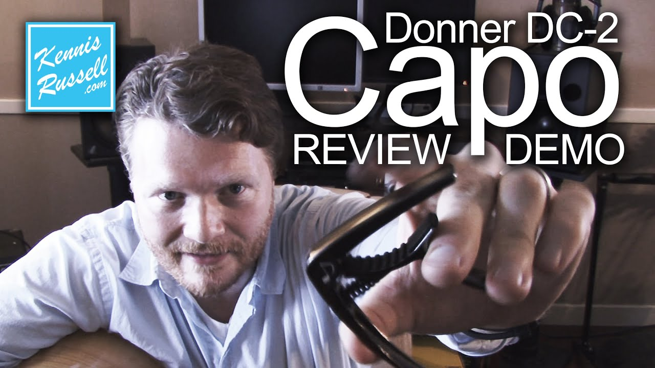 Donner DC2 Capo ReviewDemo  YouTube
