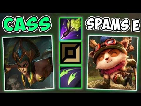 DOES CASSIOPEIA TEEMO