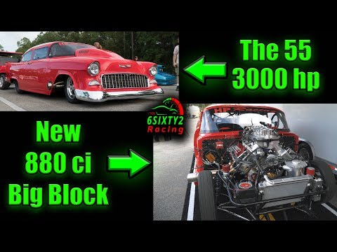 The 55 New 880 Cubic Inch Engine Is Beautiful! 3000hp!! DSNP Gulport 4k