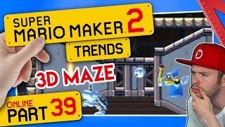 SUPER MARIO MAKER 2 ONLINE 👷 #39: Verblüffendes 3D Maze House \u0026 xxNNiixx Trend-Flex