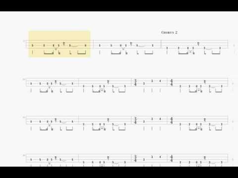 OASIS - stand by me - BASS TAB