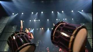 An unprecedented and timeless Japanese drumming performance from th...