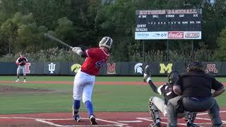 Sean Lynch  Batting highlights Drew University Showcase Triple at Rutgers University