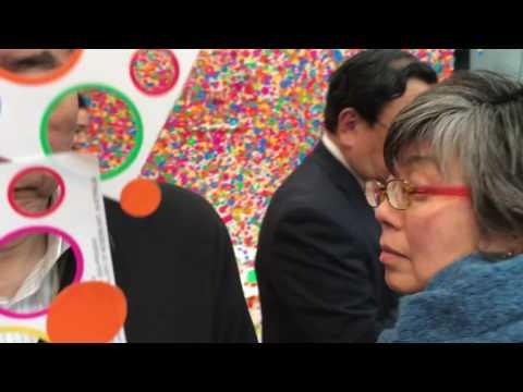 Yayoi Kusama - 2017 - Tokyo Exhibition - Interactive Installation