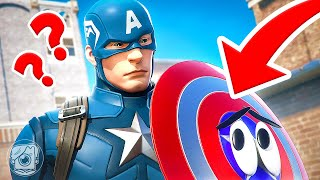HIDE FROM CAPTAIN AMERICA... or DIE! (Fortnite Prop Hunt)