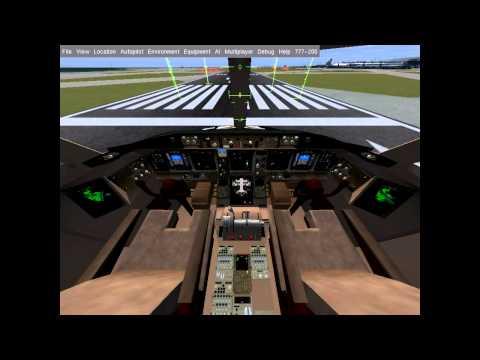 Flight Gear pro LinuxExpres.cz 2013