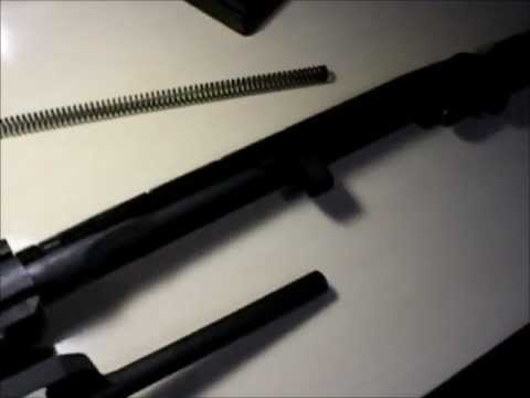M1A M14 Field Strip Disassembly - YouTube
