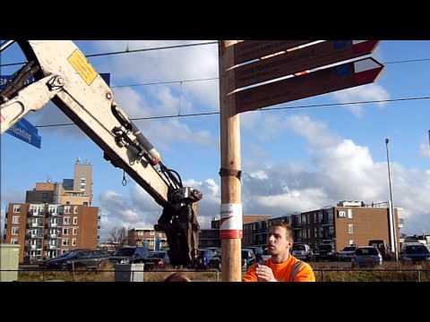 Handwijzer Wandelnet Hoek van Holland: GR5, Grote Rivierenpad en Nederlands Kustpad