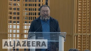 Ai Weiwei opens migration-inspired exhibition in New York