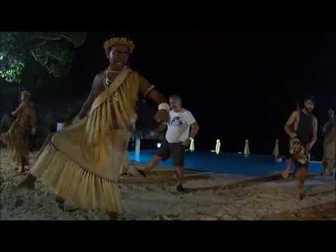 """AMOSEA ISLAND"" TEAM AT FUTUNA ISLAND CUSTOM MUSIC NO 1 VANUATU 2017"