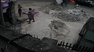 CCTV footage allegedly showing how  Rivers police team killed a painter in Port Harcourt | Punch
