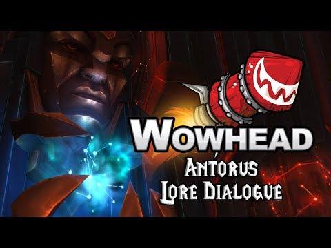 Antorus - Lore Dialogue