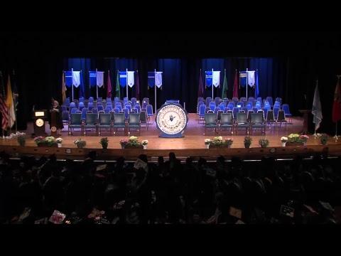 2017 College of Undergraduate Studies Commencement Ceremony